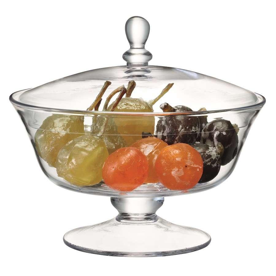 Ваза для десертов с крышкой Serve В 19, 5 см LSA G912-19-301