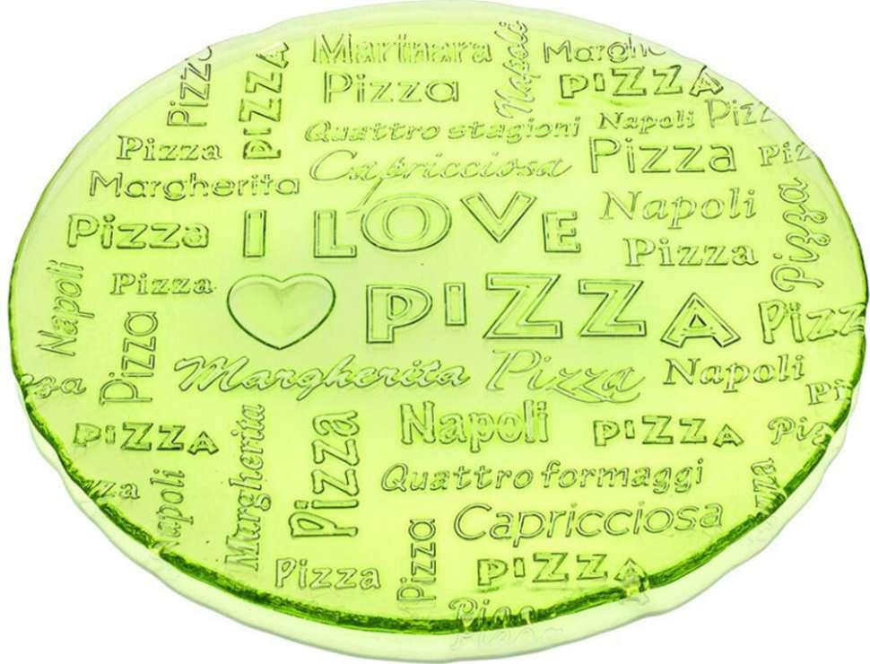 Блюдо 32,5 см Зеленое I lOVE PIZZA IVV 7453.1
