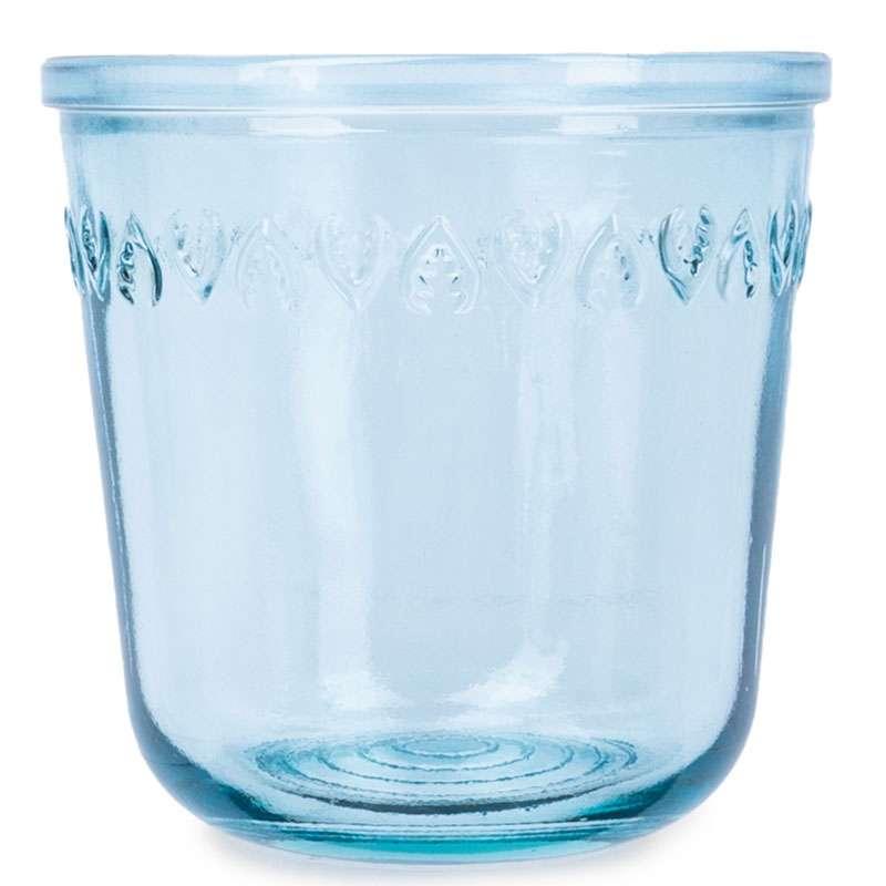 Бутылка для воды 1л со стаканом 0,22 л Natural  Water, голубые SAN MIGUEL VSM-XRD8379-DB601