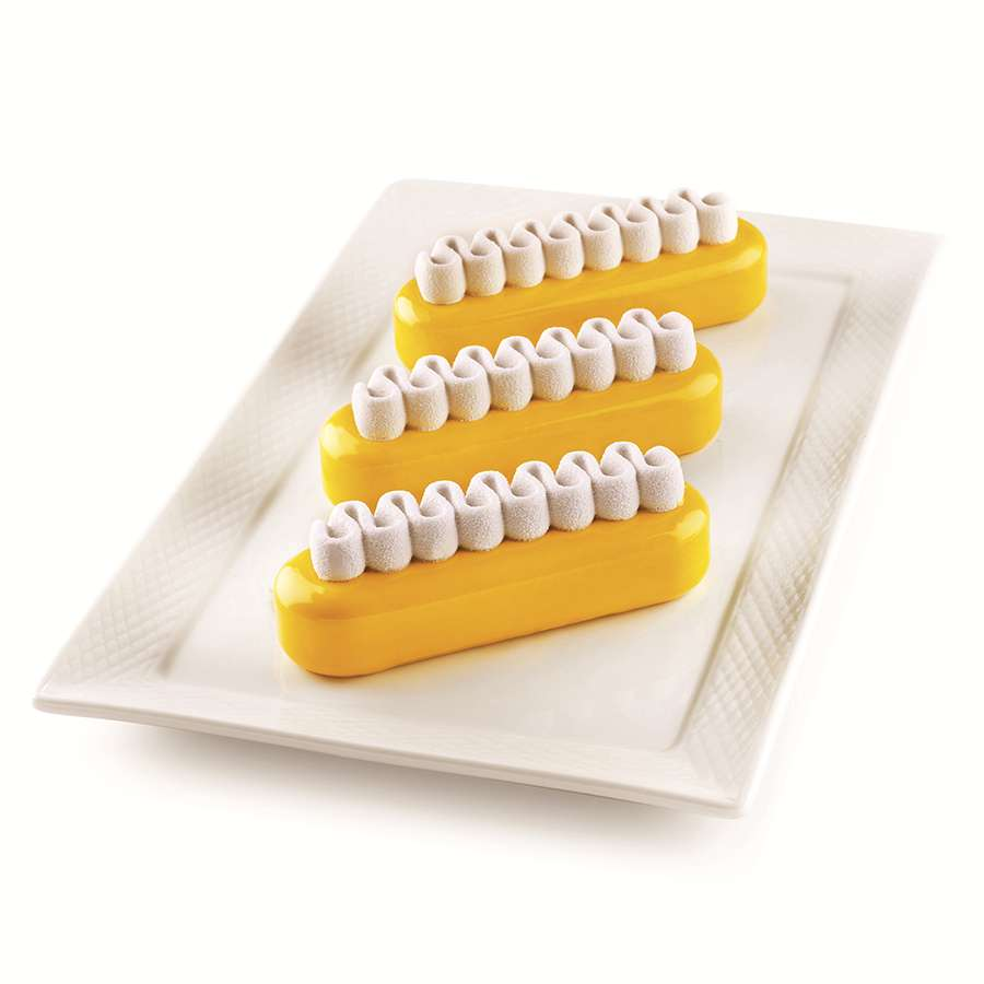 Набор из 2 силиконовых форм для приготовления эклеров Pop Eclair SILIKOMART 25.275.13.0065