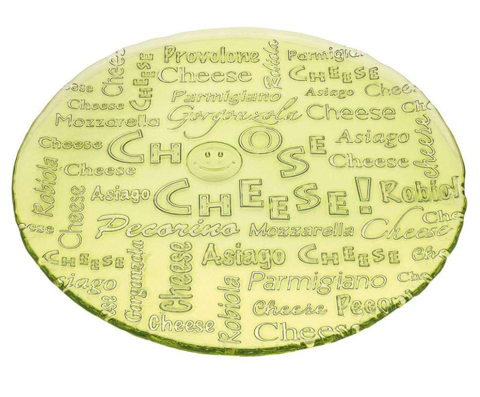 Блюдо 32,5 см Зеленое I CHOOSE CHEESE IVV 7456.1