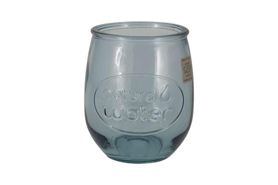 Стакан Natural Water, голубой, 0,4 л SAN MIGUEL VSM-2388-DB601
