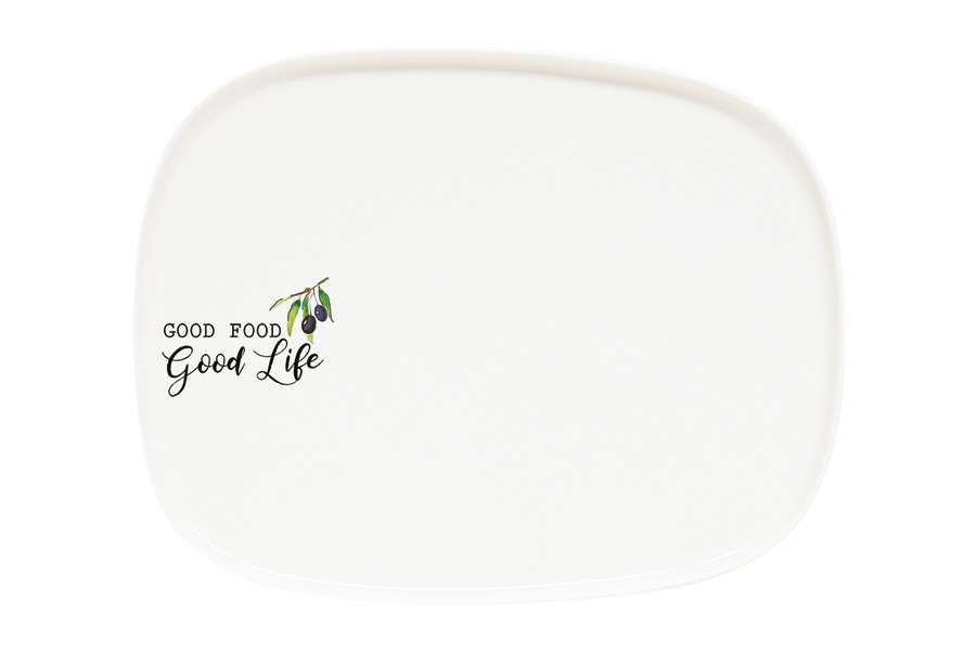 Тарелка обеденная Kitchen Elements без инд.упаковки EASY LIFE EL-R1900_KITE