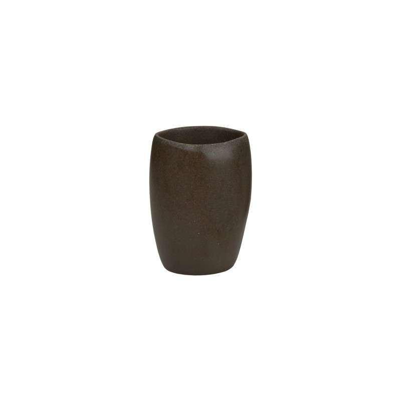 Стакан для зубных щеток Black Stone ANDREA HOUSE BA64263