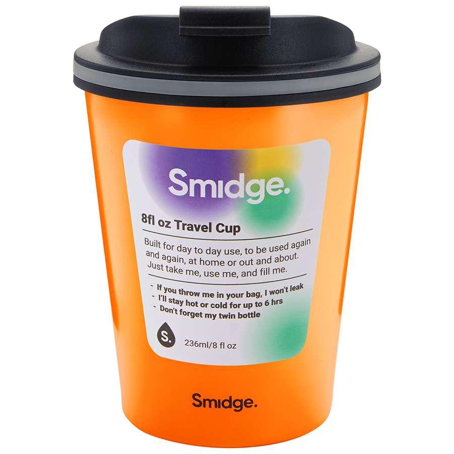 Термокружка 236 мл Citrus SMIDGE SMID10CI