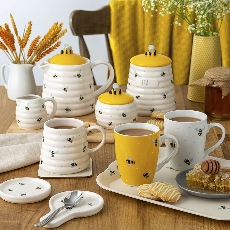 Подставка для чайных пакетиков Sweet Bee PRICE & KENSINGTON Ведро овальное для уборки BOOMJOY P_0059.652
