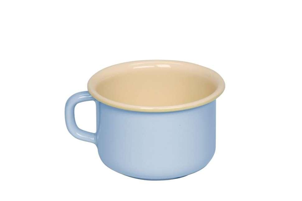 Кофейная кружка 0,4 пастель голубой PASTELL RIESS 0299-006