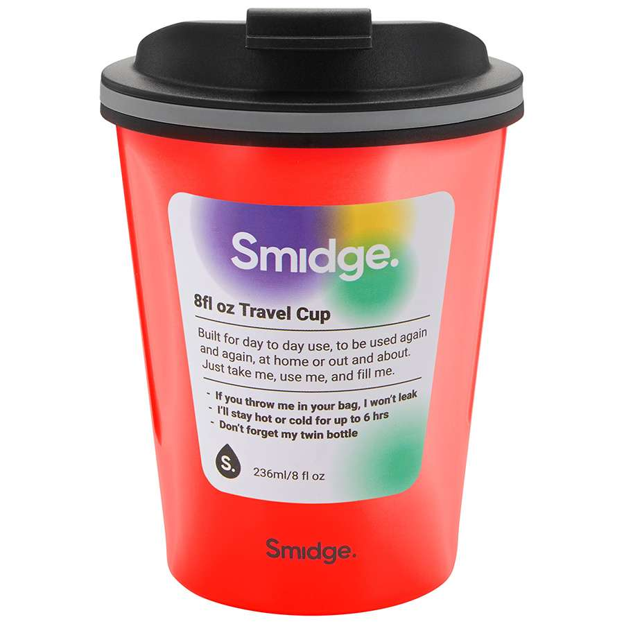 Термокружка 236 мл Coral SMIDGE SMID10C