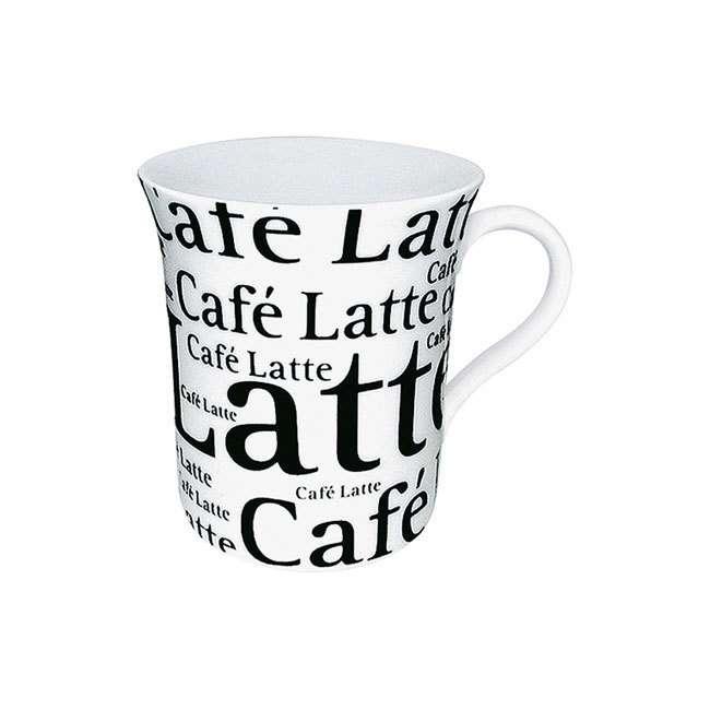 """Кружка """"Кофе латте белый"""" KONITZ 11 1 100 0647"""