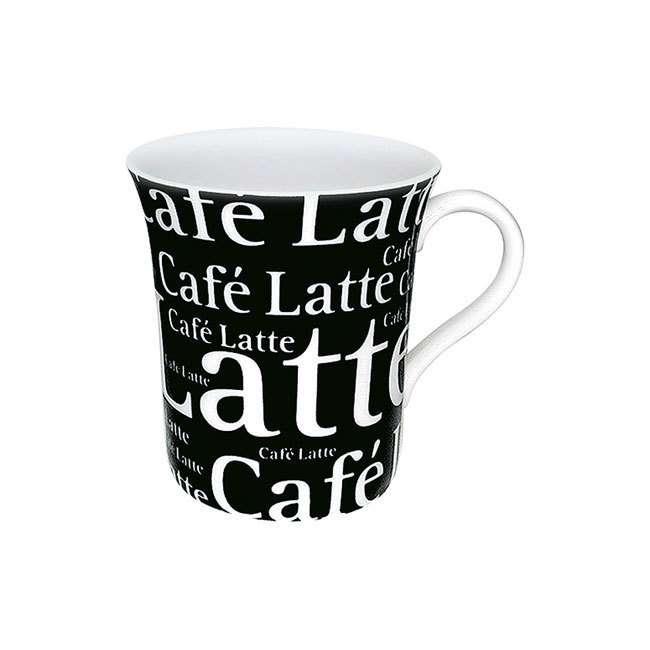 """Кружка """"Кофе латте черный"""" KONITZ 11 1 100 0649"""