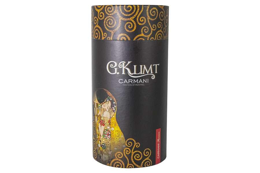Бокал для вина Поцелуй (Г.Климт) 0,5л в подарочной упаковке CARMANI CAR841-3601