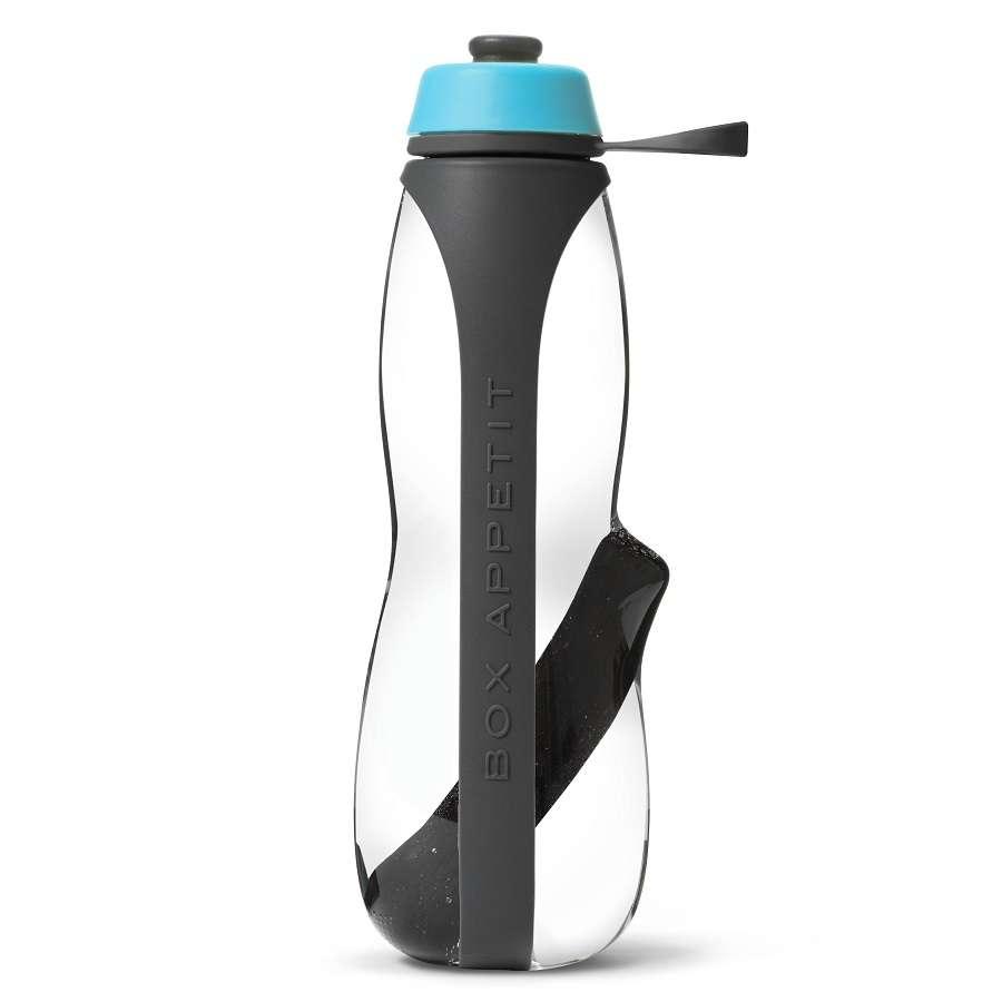 Эко-бутылка Eau Good Duo с фильтром серо-голубая BLACK+BLUM EGD-G01