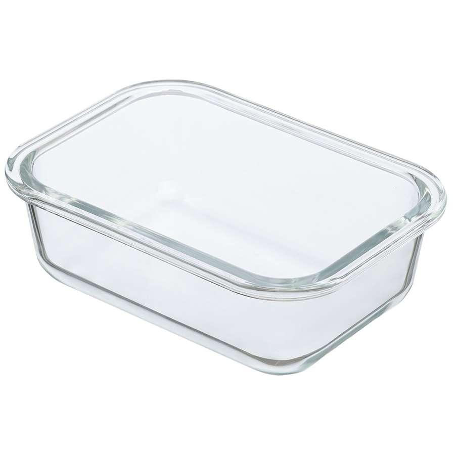 Контейнер для еды стеклянный 640 мл светло-бежевый SMART SOLUTIONS ID640RC_7534C