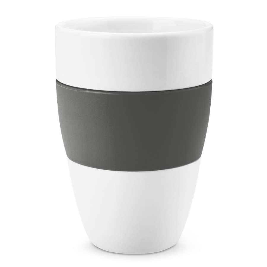 Чашка AROMA, 400 мл, темно-серая KOZIOL 3564342