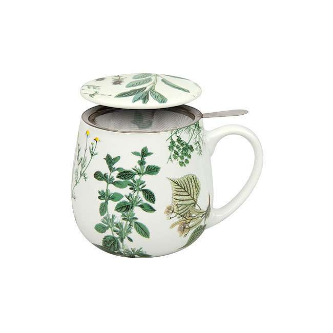 """Кружка заварочная с ситечком и крышкой  """"Мой любимый чай с травами"""" KONITZ 11 5 343 2135"""