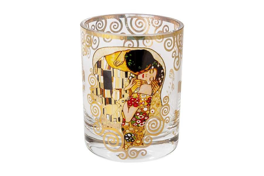 Стакан для виски Поцелуй (Г.Климт) в подарочной упаковке CARMANI CAR841-5601