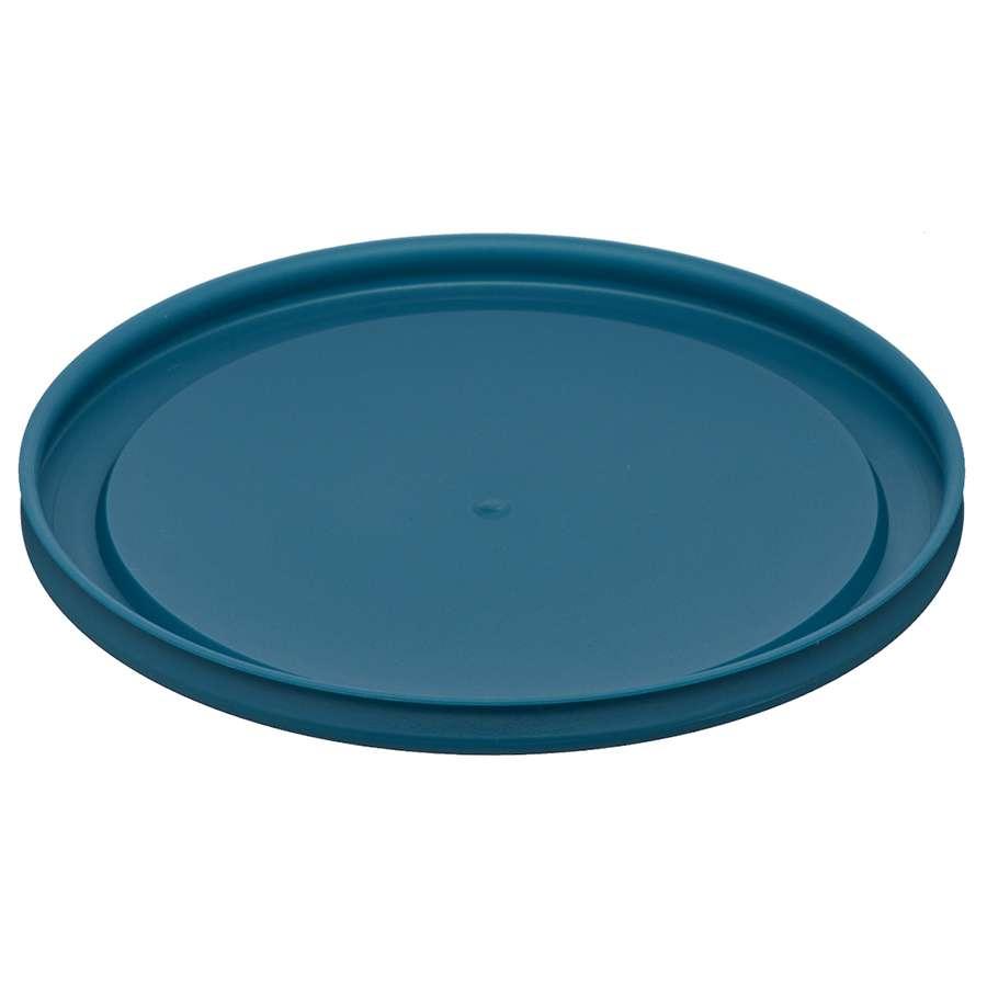 Контейнер для еды стеклянный 944 мл темно-синий SMART SOLUTIONS JV944RD