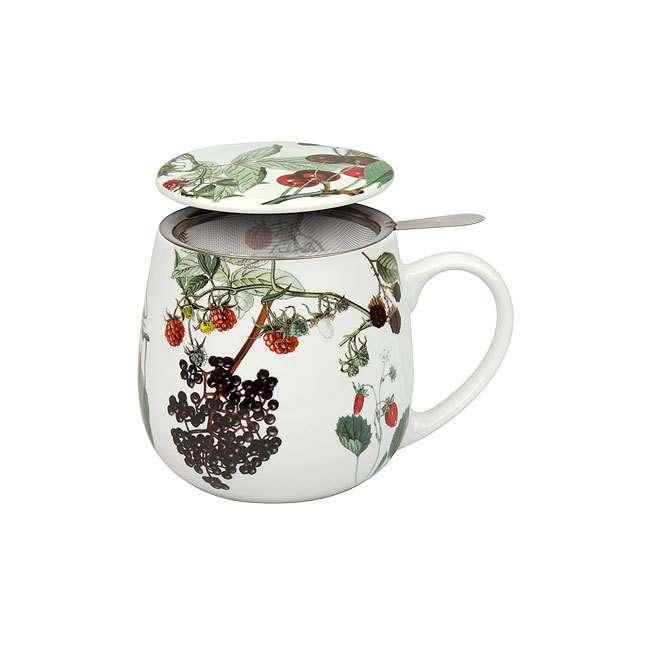 """Кружка заварочная с ситечком и крышкой """"Мой любимый чай с фруктами"""" KONITZ 11 5 343 2139"""