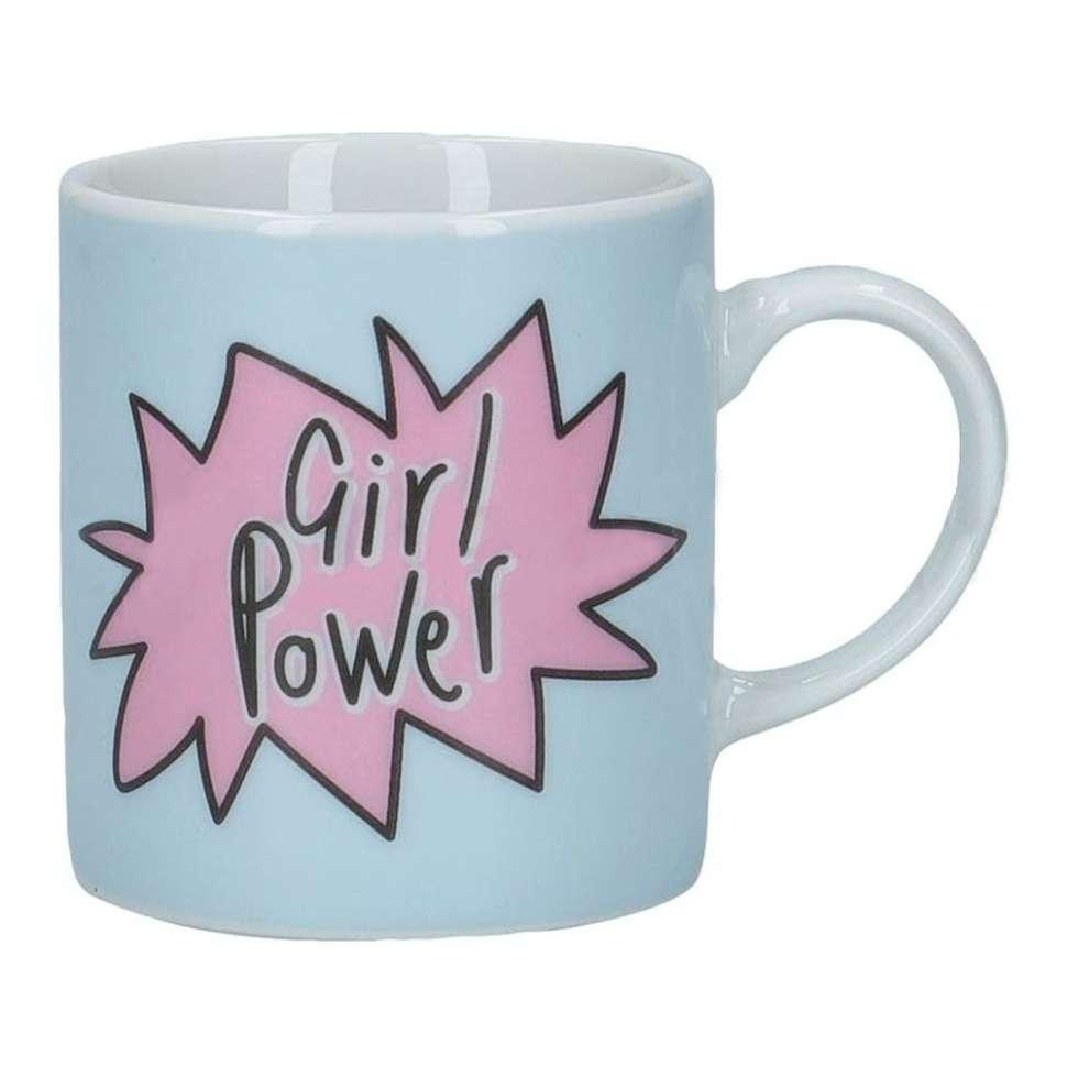 Кружка эспрессо Girl power KITCHEN CRAFT KCESPRESS44