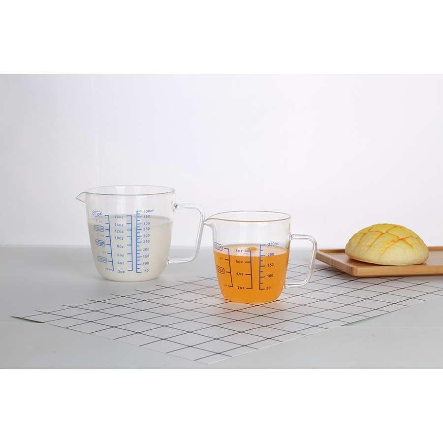 Чаша мерная 0,5 л стеклянная SMART SOLUTIONS PY-500