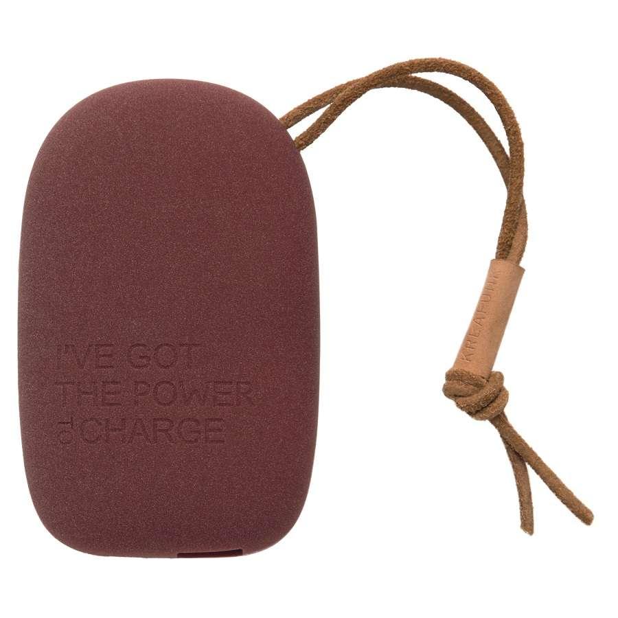 Аккумулятор внешний toCHARGE, бордовый KREAFUNK Kfsk63