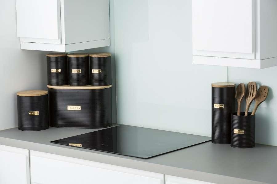 Емкость для хранения сахара Otto черная 1,4л TYPHOON 1401.150V