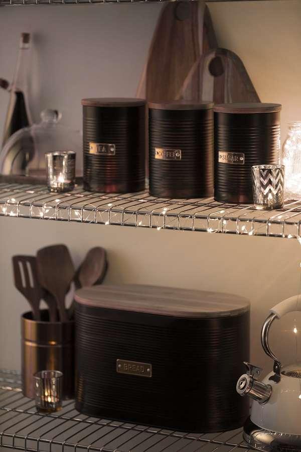 Емкость для хранения кофе Otto черная 1,4л TYPHOON 1401.149V