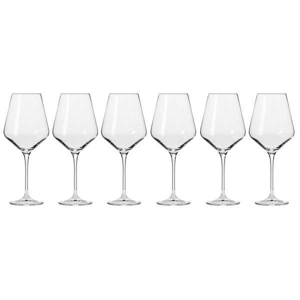 Набор бокалов для красного вина Krosno Авангард 490 мл, 6 шт