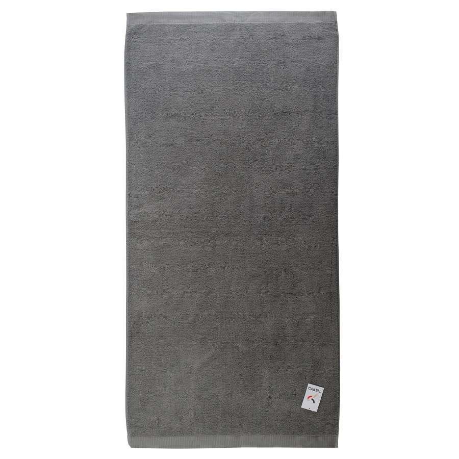 Полотенце банное темно-серого цвета TKANO TK18-BT0017