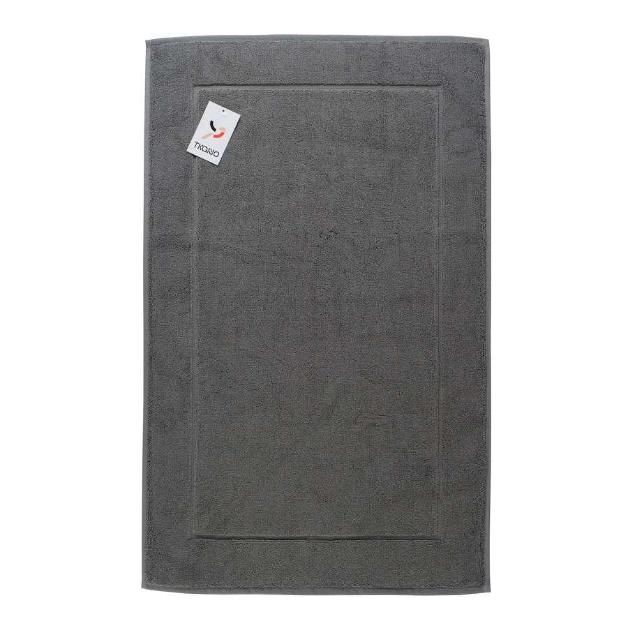Коврик для ванной темно-серого цвета TKANO TK18-BM0005
