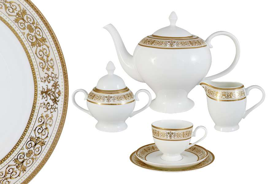 Чайный сервиз Шарлотта 21 предмет на 6 персон