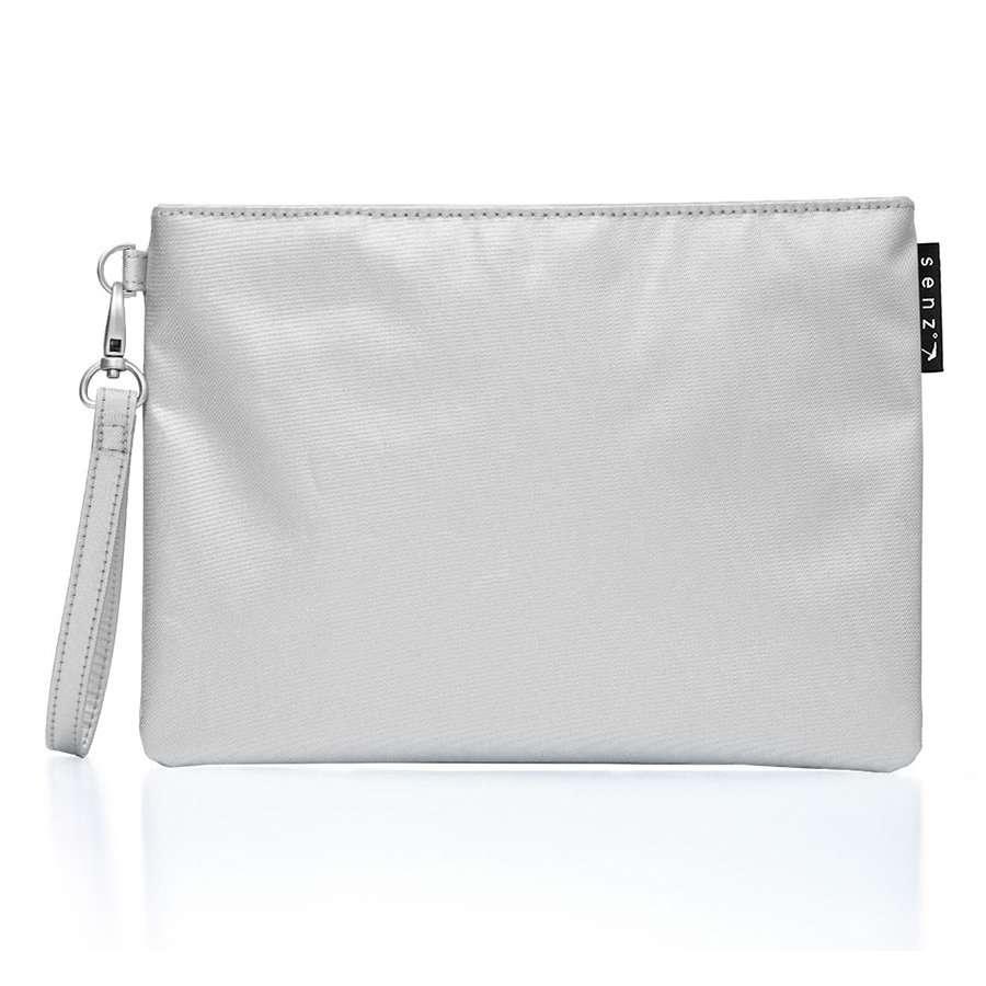 Косметичка senz° Fern shiny silver SENZ 6015003