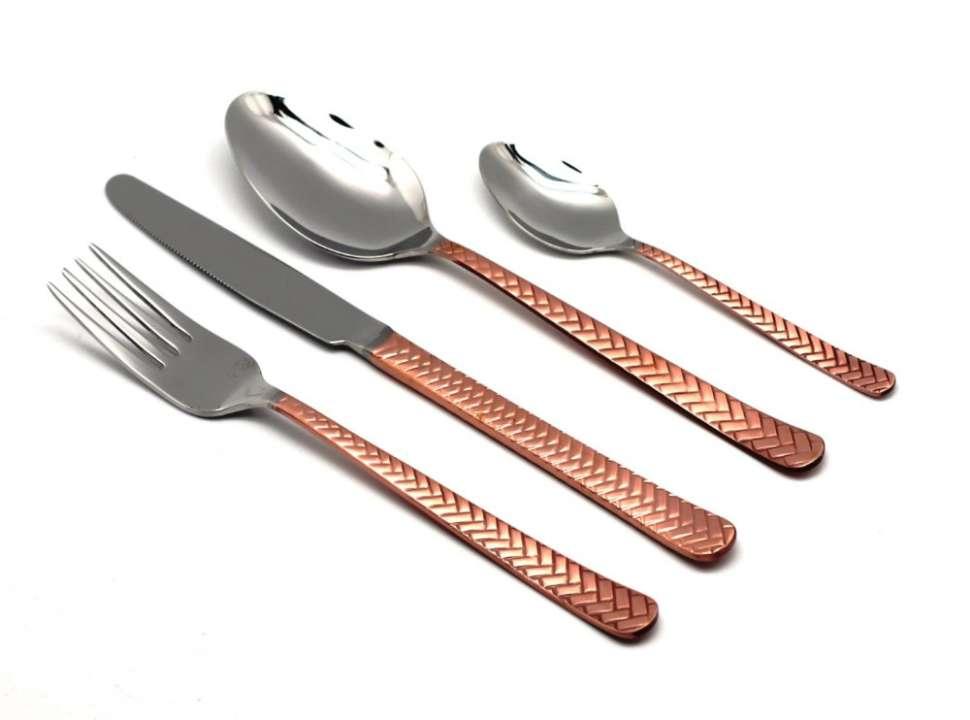 Набор столовых приборов (24 шт.) STRAW COPPER 109302427ELE10