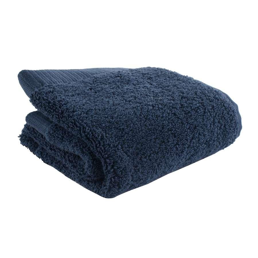 Полотенце для лица темно-синего цвета TKANO TK18-BT0003