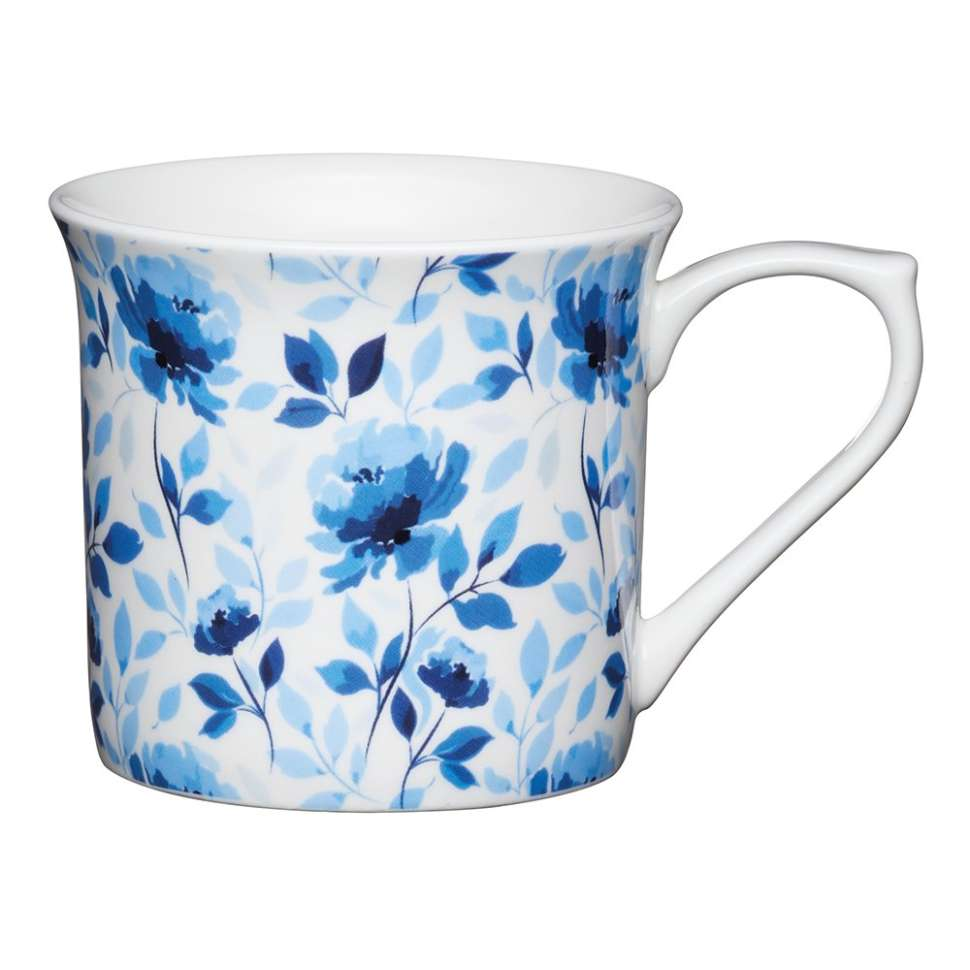 Кружка Blue rose KITCHEN CRAFT KCMFLT08