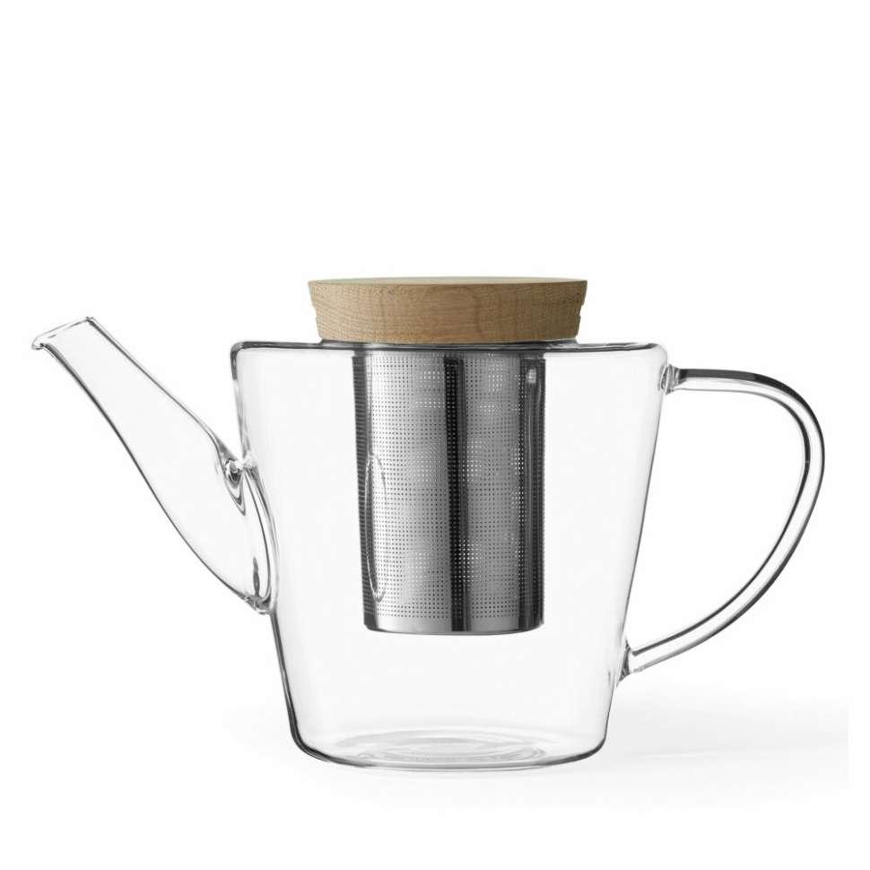 Чайник заварочный Infusion™ с ситечком 1,2 л, боросиликат/дерево VIVA Scandinavia V74900