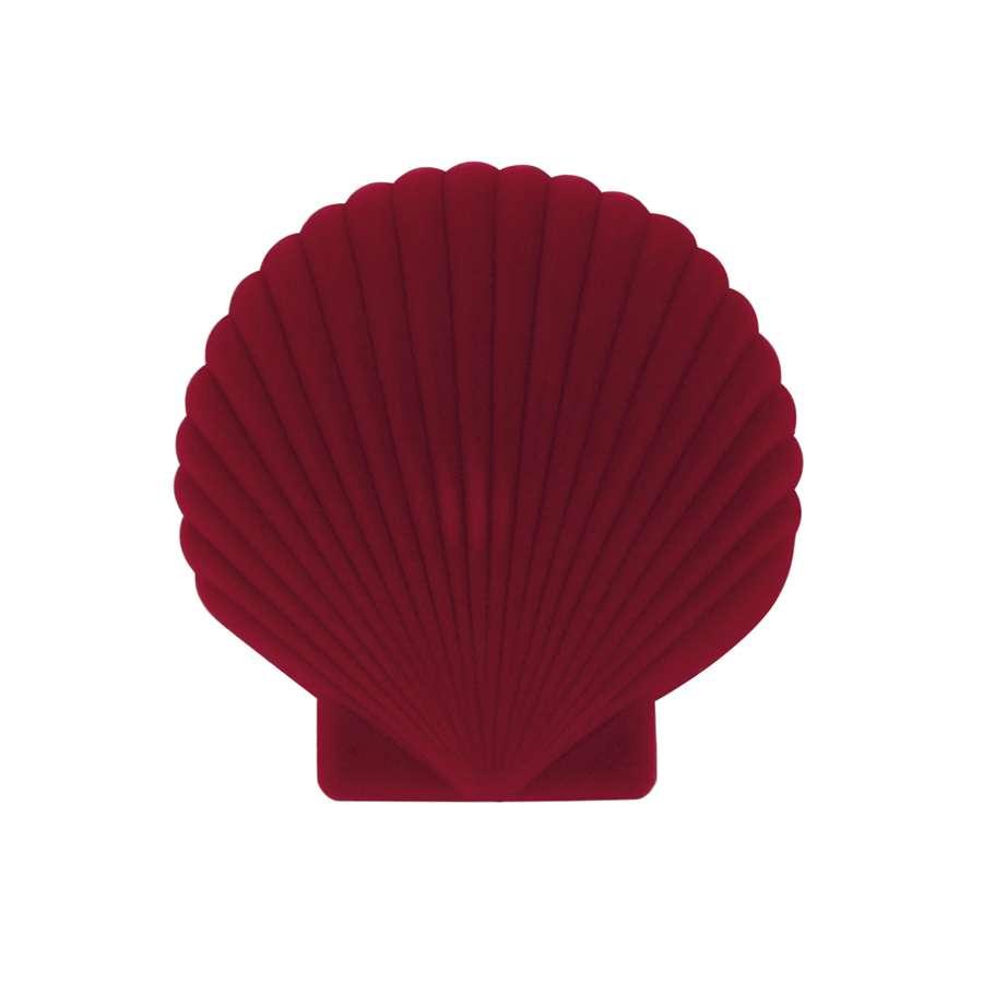 Шкатулка для украшений Shell, красная DOIY DYVENUSRE
