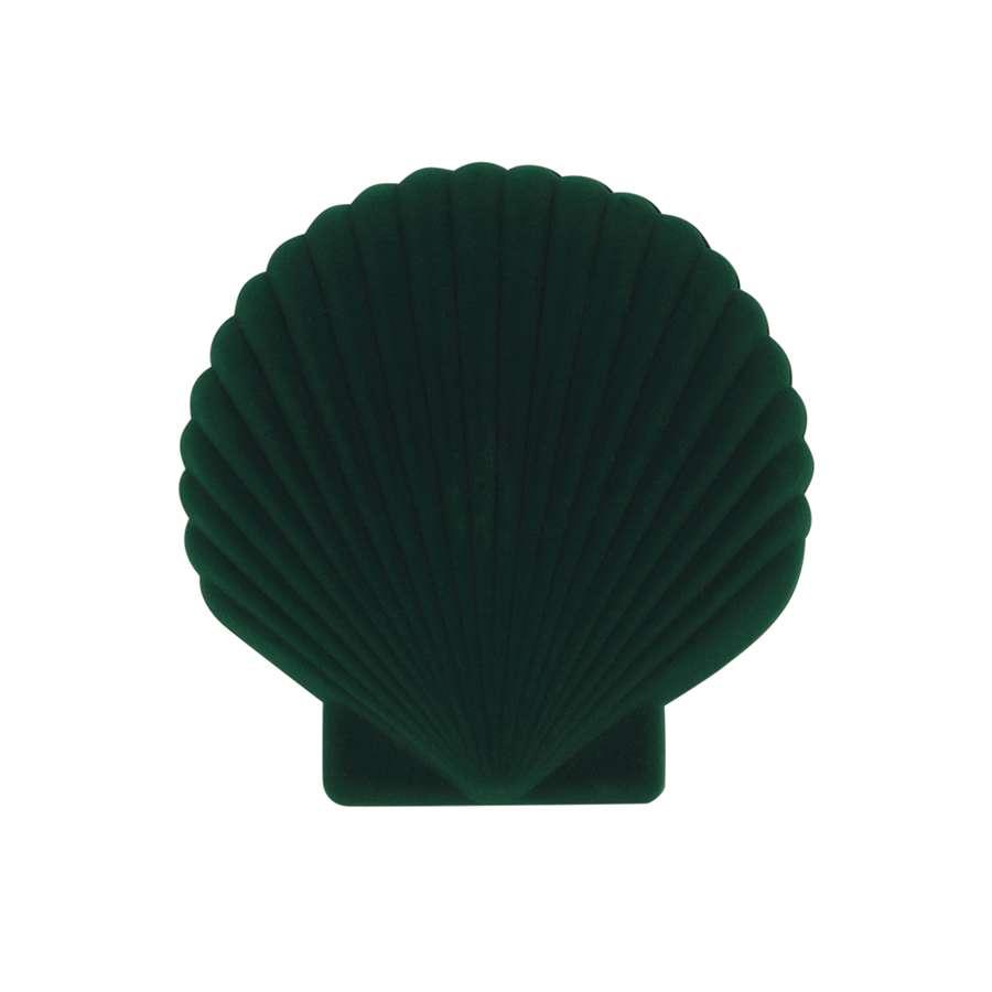 Шкатулка для украшений Shell, зеленая DOIY DYVENUSGR