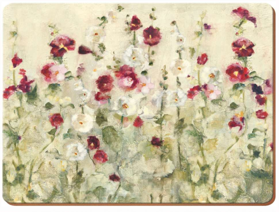 "Набор 4 подставок ""WILD FIELD POPPIES"" 40x29 CREATIVE TOPS 5176708"