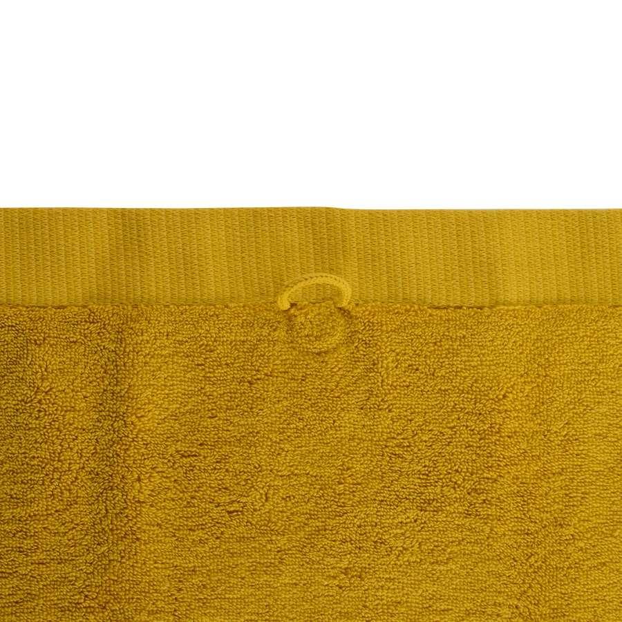 Полотенце для лица горчичного цвета TKANO TK18-BT0001