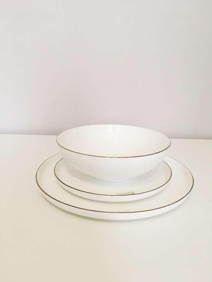 Набор обеденный 12 предметов на 4 персоны Кашемир Голд в подарочной упаковке MAXWELL & WILLIAMS MW583-EF0122